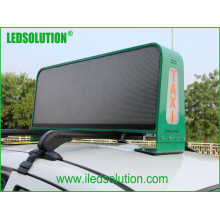 Ledsolution Full Color P5 Taxi Top LED Display with Double Faces