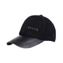 Leather Brimless Baseball Cap