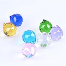 Qualidade superior facetada 60mm bola de cristal de decoração