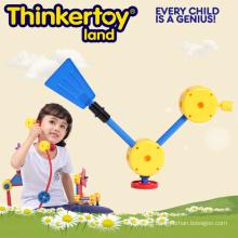 DIY Plastic Education Toy for Kids Children Building Block Toys