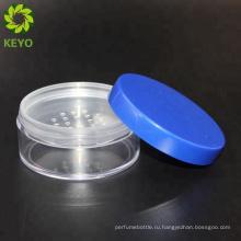 Фиолетовый крышка пластиковая пудра компактная упаковка