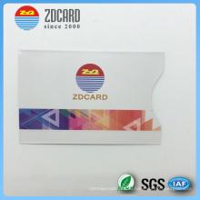 Индивидуальный печатный держатель кредитной карты стандартного размера