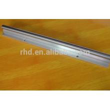 SBR25 SME25 diameter 25mm length 1m aluminium body Gcr15 steel linear shaft SBR25+1ML