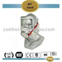gas mask (Fire Escape Hood)