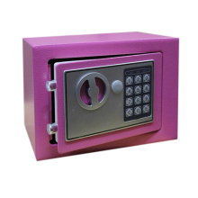 Small digital security electronic safe for office