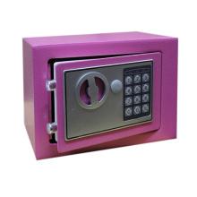 Pequeña caja fuerte electrónica de seguridad digital para oficina