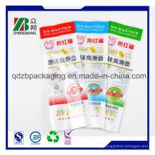 Plastic Back Center Sealed Bag for Wite Tissue Packaging