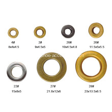 Round Eyelets Metal Grommet Antique Brass