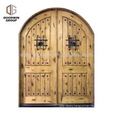 2018 new arrival front door styles pictures glass decorative door for entry gate 2 panel arch interior door