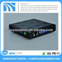 Конвертер VGA в AV Конвертер VGA для Компонента Ypbpr TV AV Конвертер Коробка сплиттера