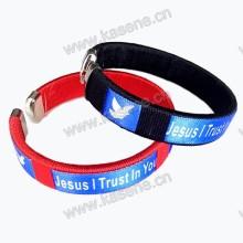 Bracelete do cabo do bracelete da forma do projeto o mais atrasado com logotipo da impressão