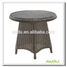 Mesa de comedor redonda grande, mesa de comedor redonda de gran tamaño con agujero de paraguas