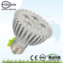 Haute qualité led par lumière 5 w led lampe