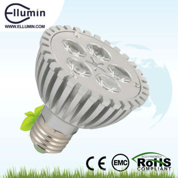 alta calidad led par luz 5w llevó la lámpara