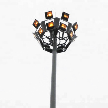 15m 20m 25m 30m hot dip galvanized street lighting high mast lighting poles for square lighting with cheap price