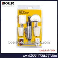 Kit de ferramentas de ar 12pcs kit de polidor de ar
