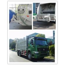 Главный sinotruk HOWO перевозит на мусоровоз сжатия