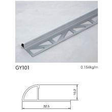 10mm Height Aluminium Radius Trim