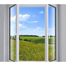 Buena calidad y precio razonable Ventana de aluminio del marco