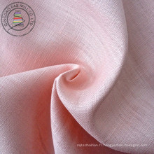 100% Tissu en lin teintée (QF13--0271)
