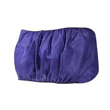 Disposable Black and Blue PP Non Woven Massage/SPA Salon Bra with Tie