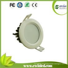 Alto brillo 125lm / vatio impermeable baño LED techo Downlights