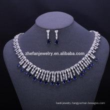 fashion jewelry brass womens jewelry set cute