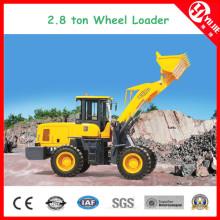 Zl28 High Efficiency 2.8 Ton Wheel Loader with Fork (2800kg)