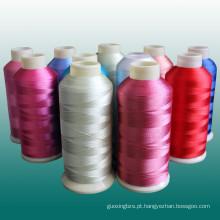 Rayon de linha de bordado de alta qualidade com preço de fábrica
