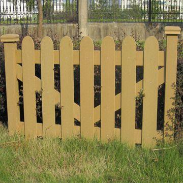 WPC clôture extérieure