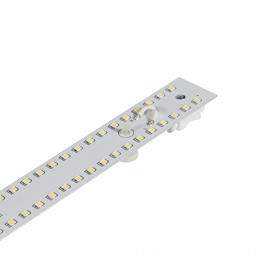 ac driverless Dimmable DOB 9W ceiling pcb board side picture