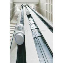 800kg Maschinenraum Panorama-Aufzug für Einkaufszentrum