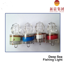Luz de pesca de mar de profundo verde rojo azul blanco LED
