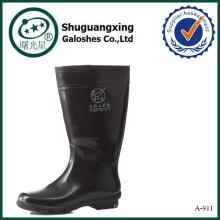 botas de lluvia de caucho para hombre hombres botas de lluvia claras de pvc