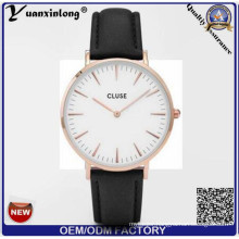 Yxl-237 Simple Design Stainless Steel Case Watch OEM Watches Factory Cluse Watch 2016 Ladies Men Watches