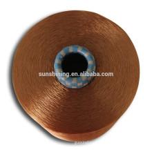 fil de filaments de rayonne 100% viscose en gros polyester 100%