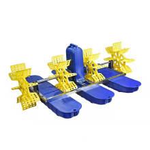 2PCS 0.5HP Paddle Wheel Aerator Used in Sea Water