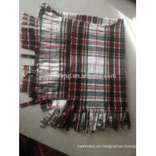 Poncho de lana de moda