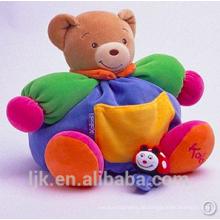 Maßgeschneiderte Plüschtiere benutzerdefinierte gefüllte Tiere bunte Teddybär