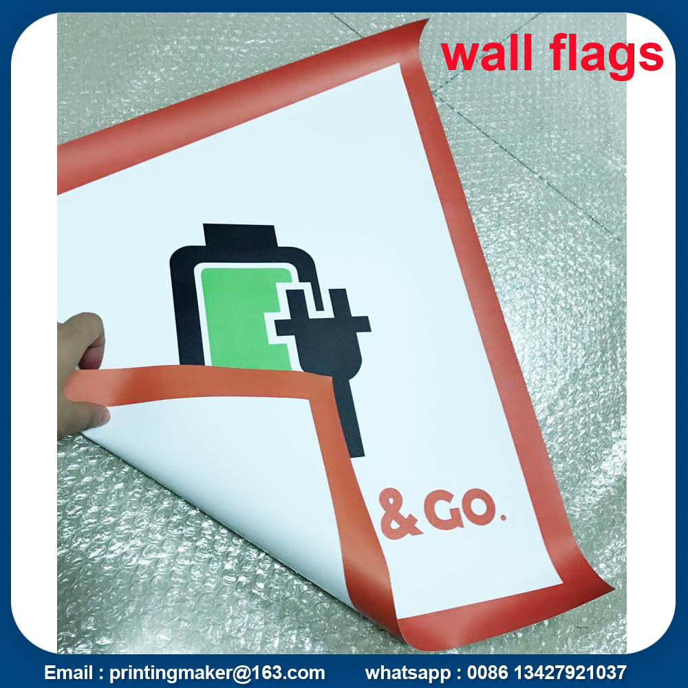 Custom Pvc Wall Flags