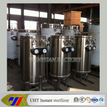 Stainless Steel Milk Sterilizing Uht Machine