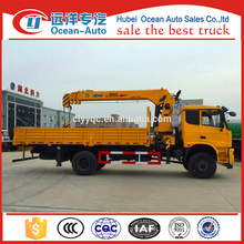 New Condition Chinese 4x4 Truck With Crane