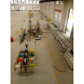 HDPE Micro Duct Bundle Hose / Pipe Extrusion Line
