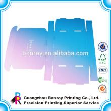 material impreso para el empaquetado de cajas corrugadas personalizadas e flauta