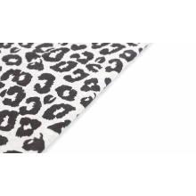 CVC tecido de lã com impressão personalizada em um lado escovado