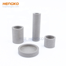 10 15 20 50 90 microns sintered Porous metal SS 316L cup cartridgs filter for industrial filtration & liquid filters