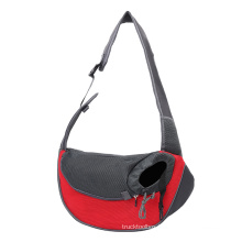 new  outing small portable breathable mesh crossbody shoulder pet bags for Dogs