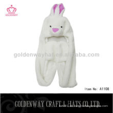 Erwachsener Kaninchen Faux Pelzhut A1108