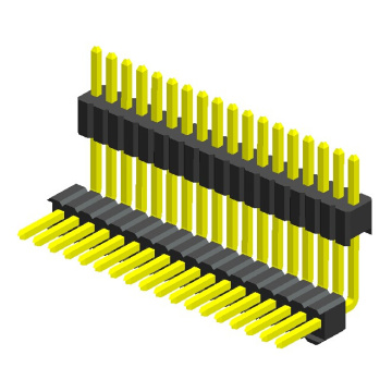 2.54mm Pin Header Single Row Double Plastic
