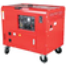 Gerador diesel de tipo silencioso de origem doméstica certificado de 5.5-6.0KVA CE